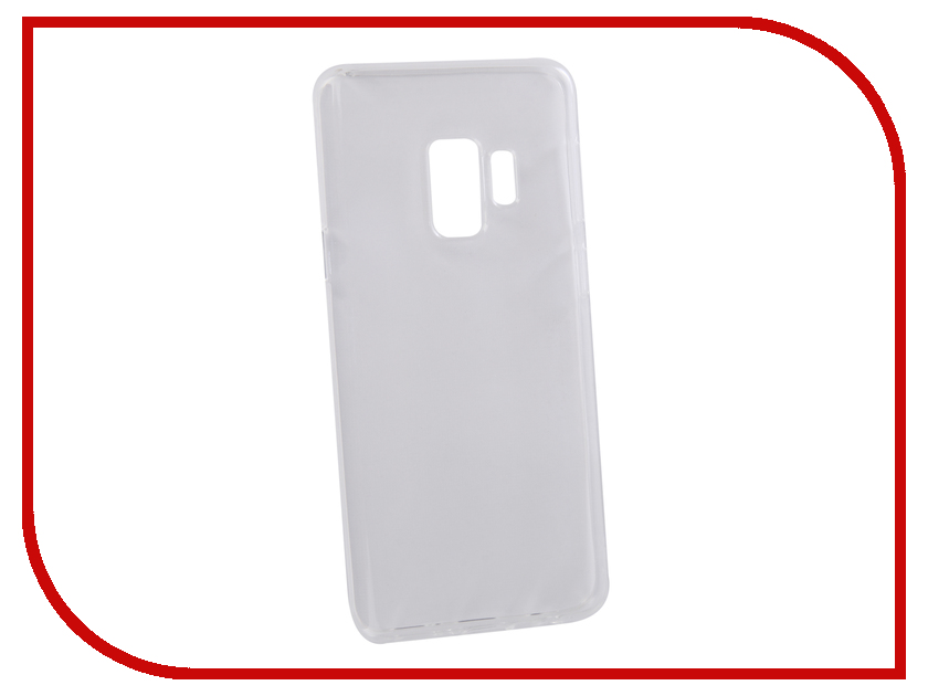 все цены на Аксессуар Чехол для Samsung Galaxy S9 LuxCase TPU Transparent 60070