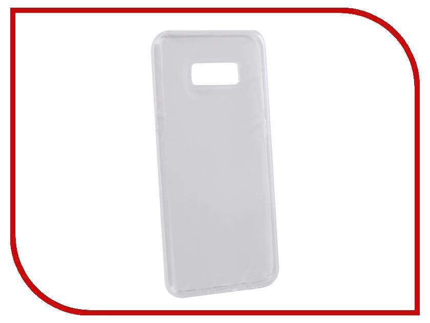 Аксессуар Чехол для Samsung Galaxy S8+ LuxCase TPU Transparent 60069 цена