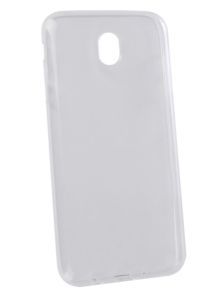 Аксессуар Чехол LuxCase TPU для Samsung Galaxy J7 2017 Transparent 60066 аксессуар чехол для nokia 8 1 luxcase tpu transparent 60106