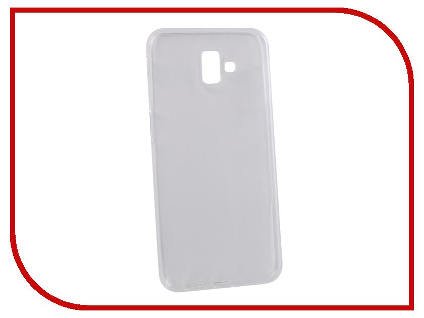 Аксессуар Чехол для Samsung Galaxy J6+ 2018 LuxCase TPU Transparent 60064