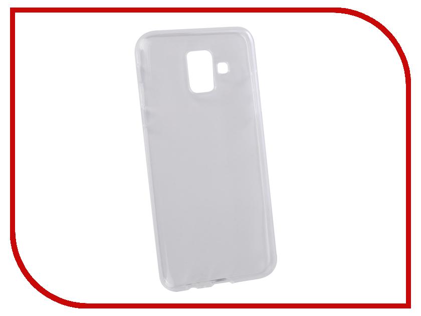 Аксессуар Чехол для Samsung Galaxy A6 2018 LuxCase TPU Transparent 60056