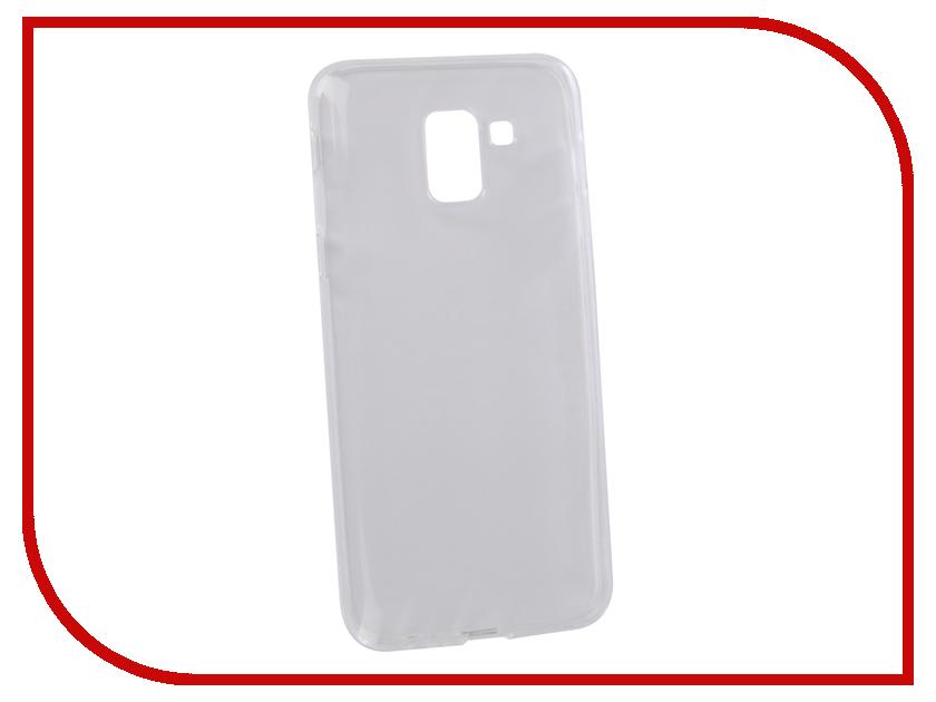 Аксессуар Чехол для Samsung Galaxy J6 2018 LuxCase TPU Transparent 60065