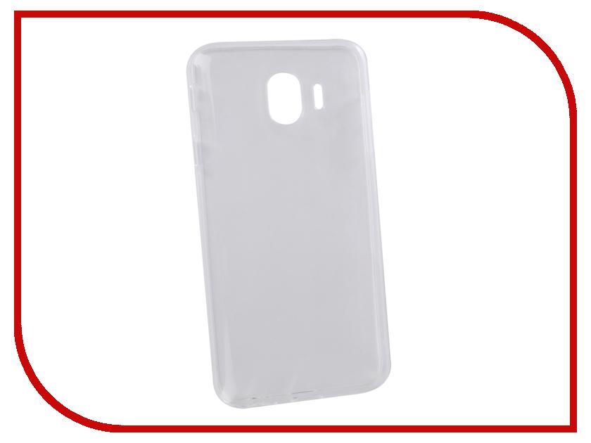 все цены на Аксессуар Чехол для Samsung Galaxy J4 2018 LuxCase TPU Transparent 60062