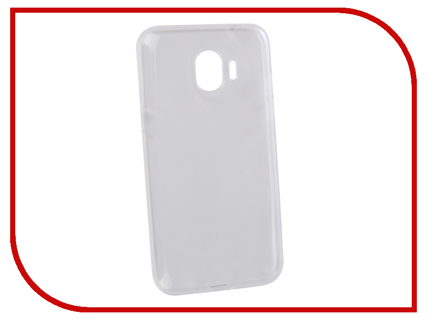 Аксессуар Чехол для Samsung Galaxy J2 2018 LuxCase TPU Transparent 60060 аксессуар чехол samsung j3 2017 j330f zibelino clear view black zcv sam j330 blk