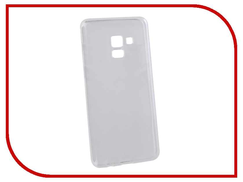 Аксессуар Чехол для Samsung Galaxy A8 LuxCase TPU Transparent 60058