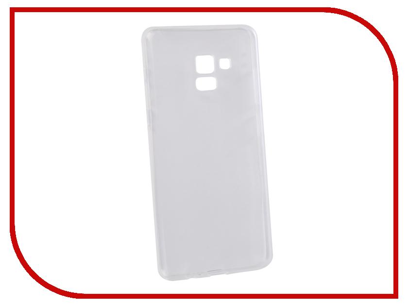 Аксессуар Чехол для Samsung Galaxy A8+ LuxCase TPU Transparent 60059 blackview a8 смартфон