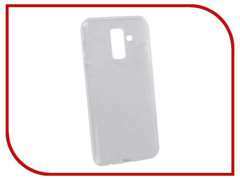 Аксессуар Чехол для Samsung Galaxy A6+ 2018 LuxCase TPU Transparent 60057 аксессуар