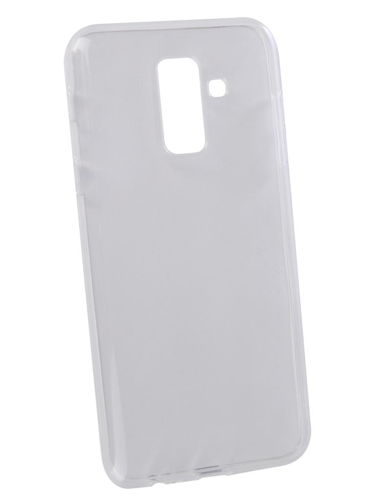 Аксессуар Чехол LuxCase TPU для Samsung Galaxy A6+ 2018 Transparent 60057