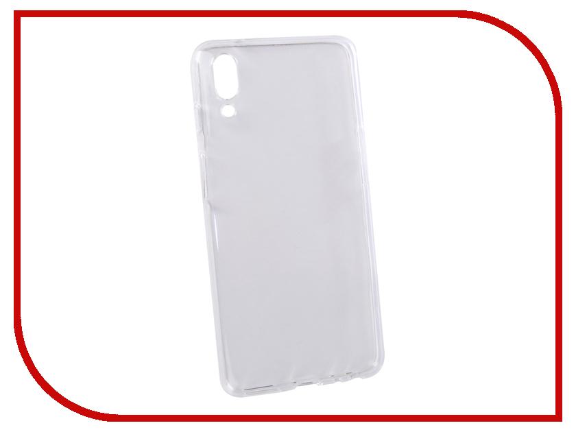 Аксессуар Чехол для Meizu E3 LuxCase TPU Transparent 60053 аксессуар чехол накладка для meizu e3 gecko silicone black s geska meizu e3 bl