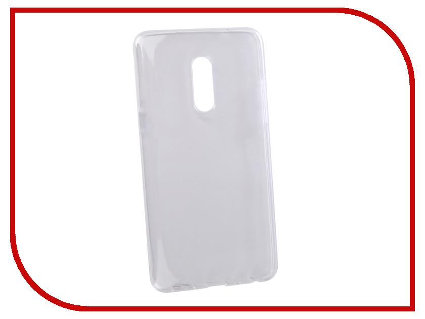 Аксессуар Чехол для Meizu 15+ LuxCase TPU Transparent 60052 аксессуар