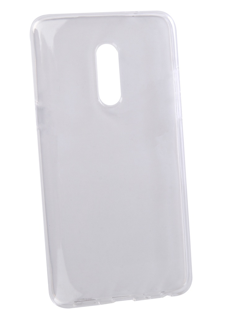 Аксессуар Чехол LuxCase для Meizu 15+ TPU Transparent 60052