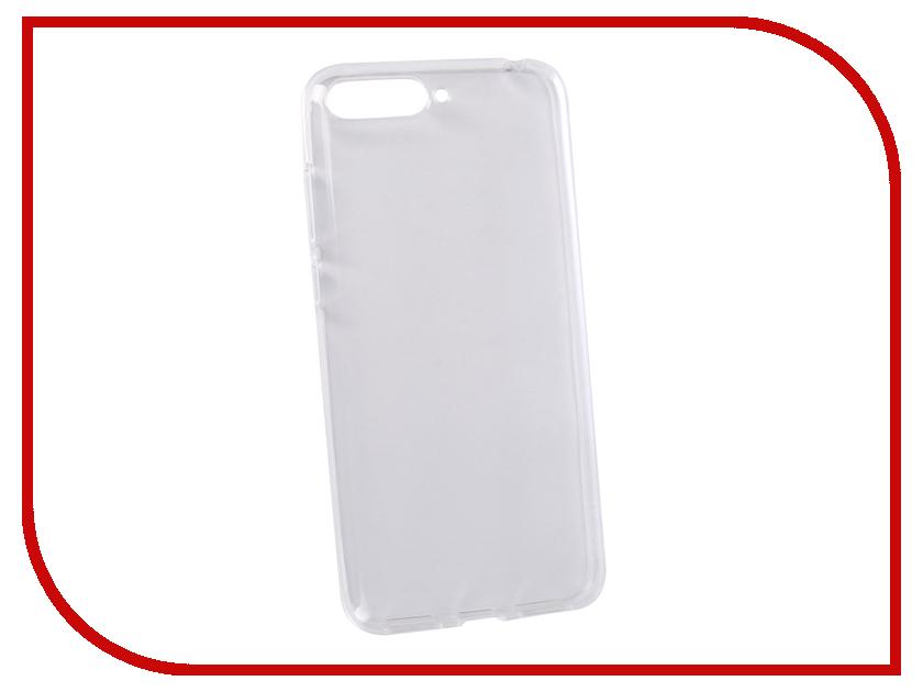 Аксессуар Чехол для Huawei Y6 2018 LuxCase TPU Transparent 60050 аксессуар чехол для sony xperia xa1 ultra brosco silicone transparent xa1u tpu transparent