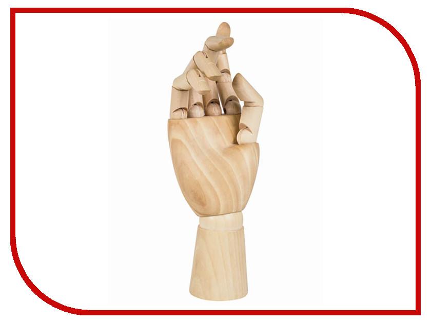 Художественный манекен Brauberg Рука женская правая 25cm Wood 191299