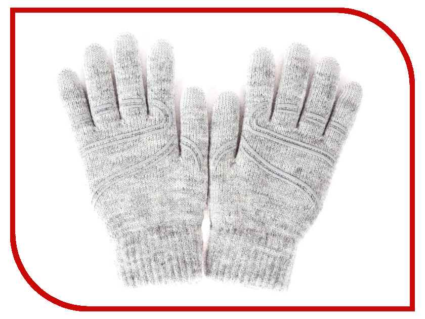 Теплые перчатки для сенсорных дисплеев Moshi Touch Screen Gloves M/S Light Gray 99MO065011 rk 7158b 1 din bluetooth stereo car radio mp5 player double screen 7 inch automatic retractable touch screen car monitor no gps