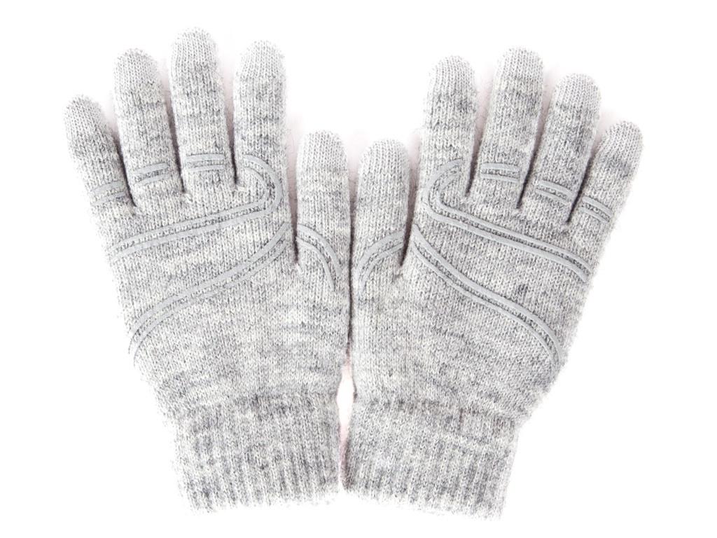 Теплые перчатки для сенсорных дисплеев Moshi Touch Screen Gloves M/S Light Gray 99MO065011