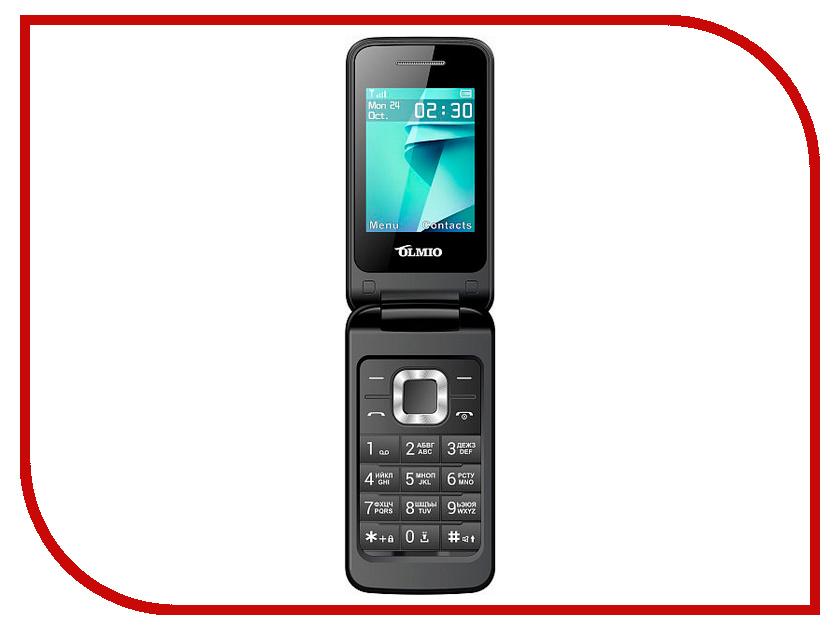 Сотовый телефон Olmio F18 Black сотовый телефон olmio e24 black gold