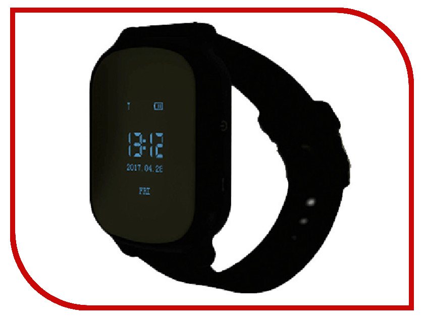 Smart Baby Watch T58 Black z4 smart watch leather strap black