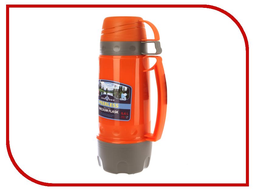 Термос Peerless PEЕ-060 600ml Orange