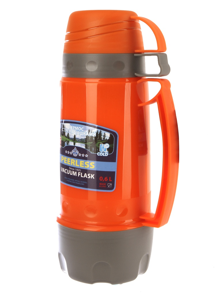 Термос Peerless PEЕ-060 600ml Orange