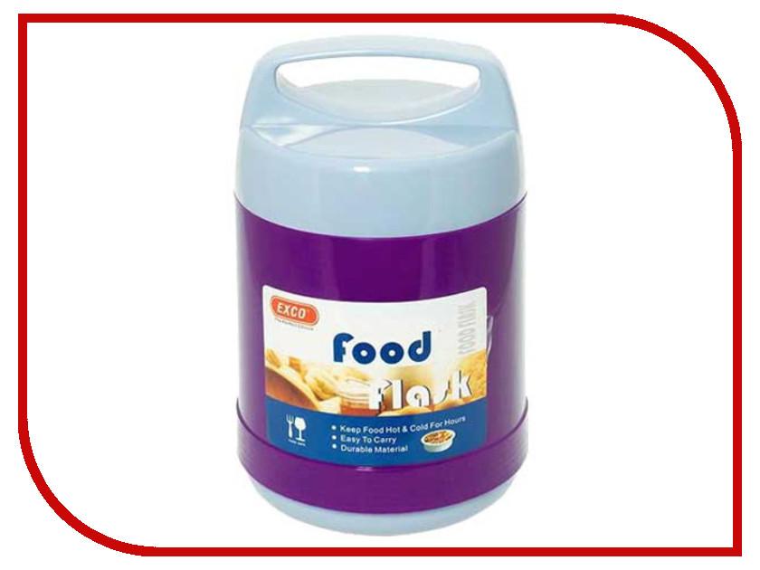 Термос EXCO 03300PH 1.2L Violet термос exco en050 0 5l grey bordeaux