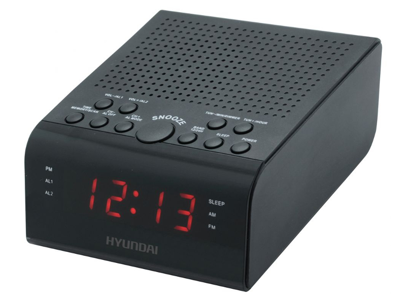 лучшая цена Часы Hyundai H-RCL180 Black