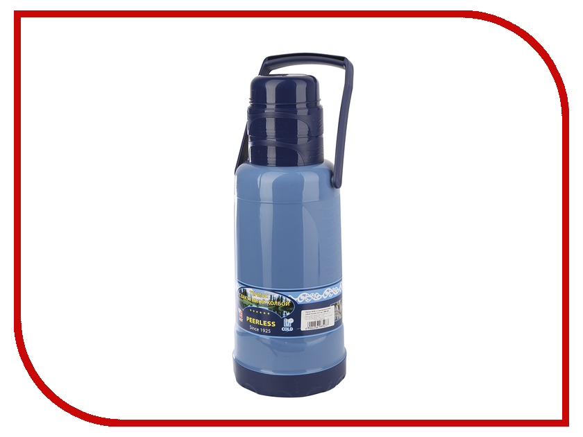 Термос Peerless PEE-320 3.2L Blue термос peerless pee 180 1 8l green