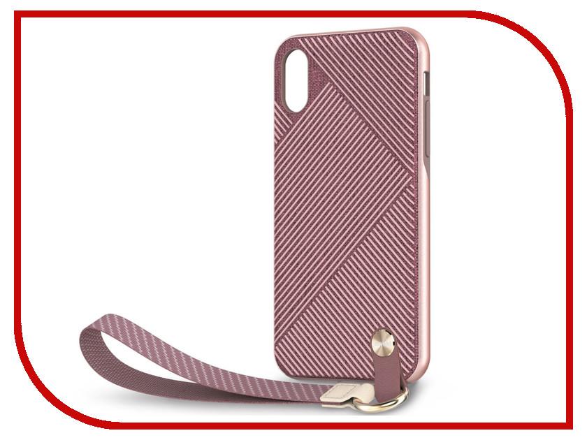 Аксессуар Чехол для APPLE iPhone XR Moshi Altra Pink 99MO117301 клип кейс moshi vitros для apple iphone xr серебристый