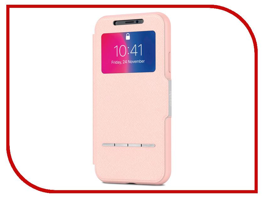 купить Аксессуар Чехол для APPLE iPhone X / XS Moshi SenseCover Luna Pink 99MO072309 онлайн