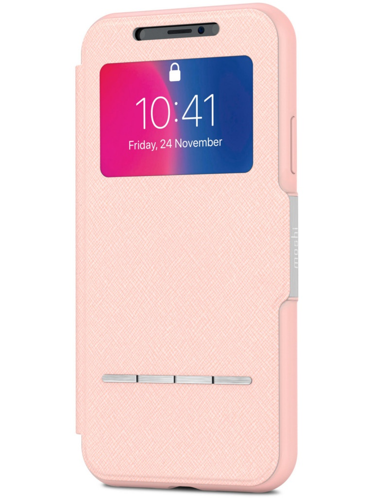 Аксессуар Чехол Moshi для APPLE iPhone X / XS SenseCover Luna Pink 99MO072309