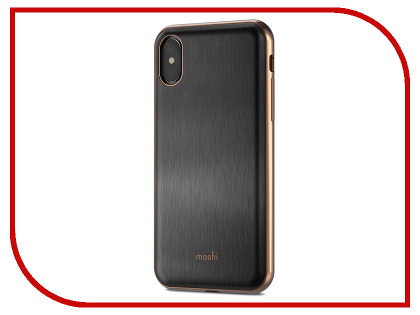 купить Аксессуар Чехол для APPLE iPhone X / XS Moshi iGlaze Armour Black 99MO101001 онлайн