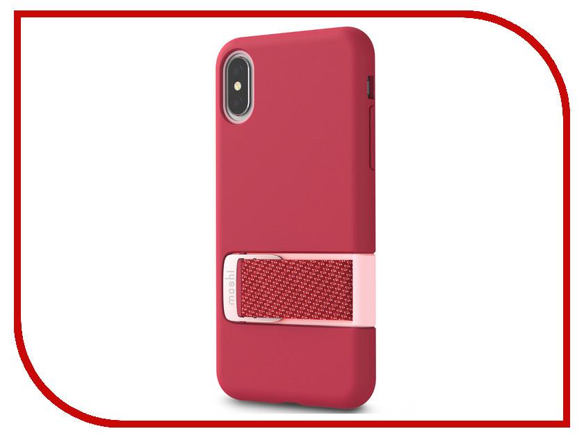 купить Аксессуар Чехол для APPLE iPhone X / XS Moshi Capto Pink 99MO114303 онлайн