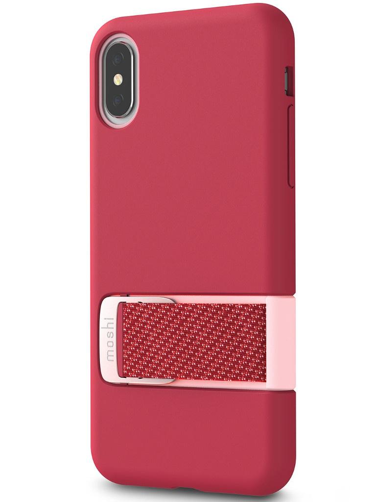 Аксессуар Чехол Moshi для APPLE iPhone X / XS Capto Pink 99MO114303