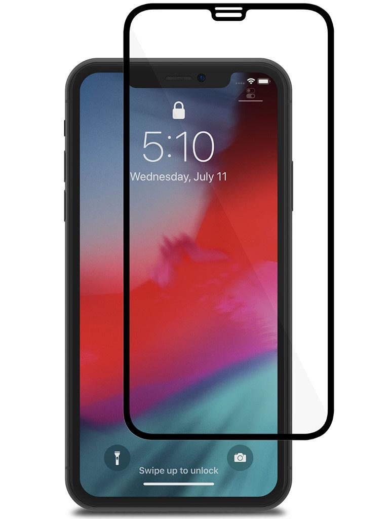 Аксессуар Защитное стекло Moshi для APPLE iPhone XR IonGlass Black 99MO096020
