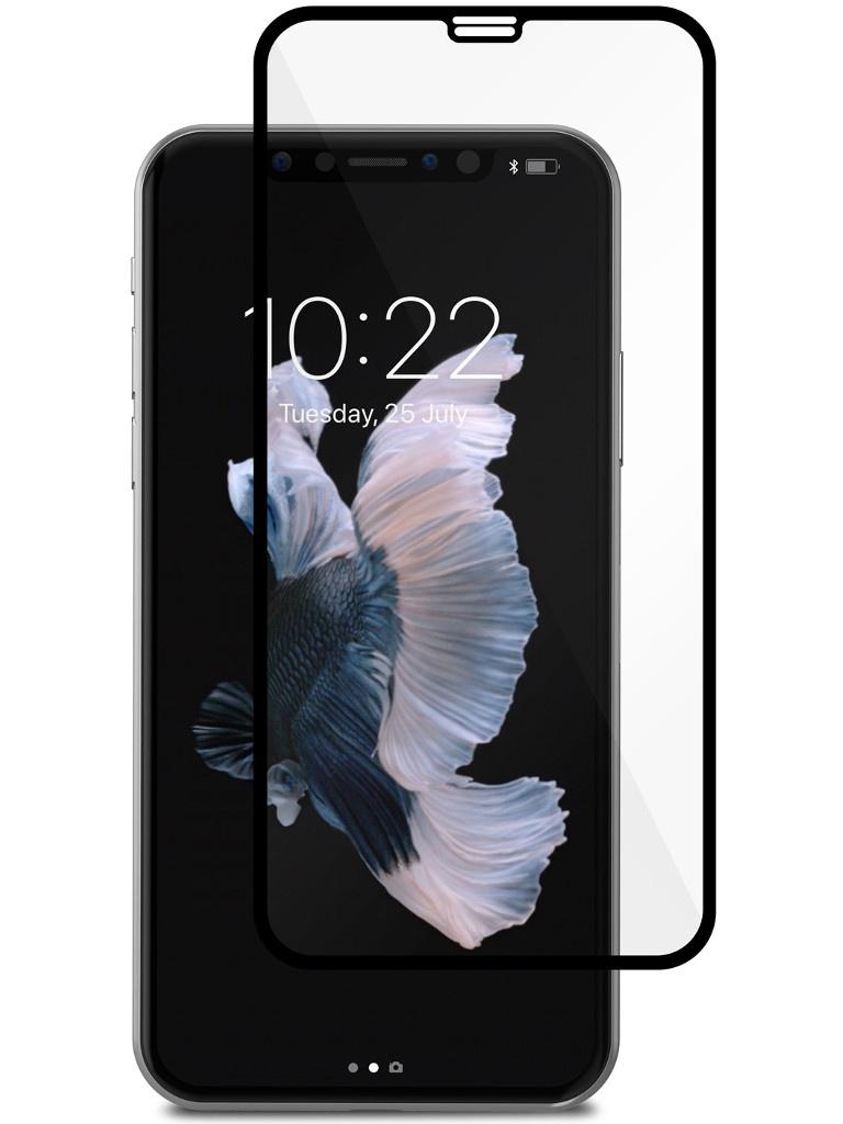 Аксессуар Защитное стекло для APPLE iPhone X Moshi IonGlass Black Glossy 99MO096005
