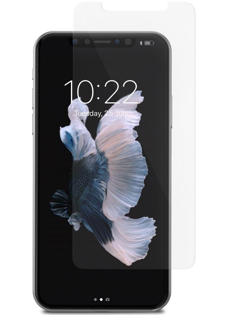 Аксессуар Защитное стекло Moshi для APPLE iPhone X AirFoil Glass Clear 99MO076014