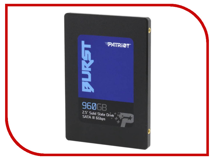 Жесткий диск 960Gb - Patriot Memory Patriot Burst PBU960GS25SSDR