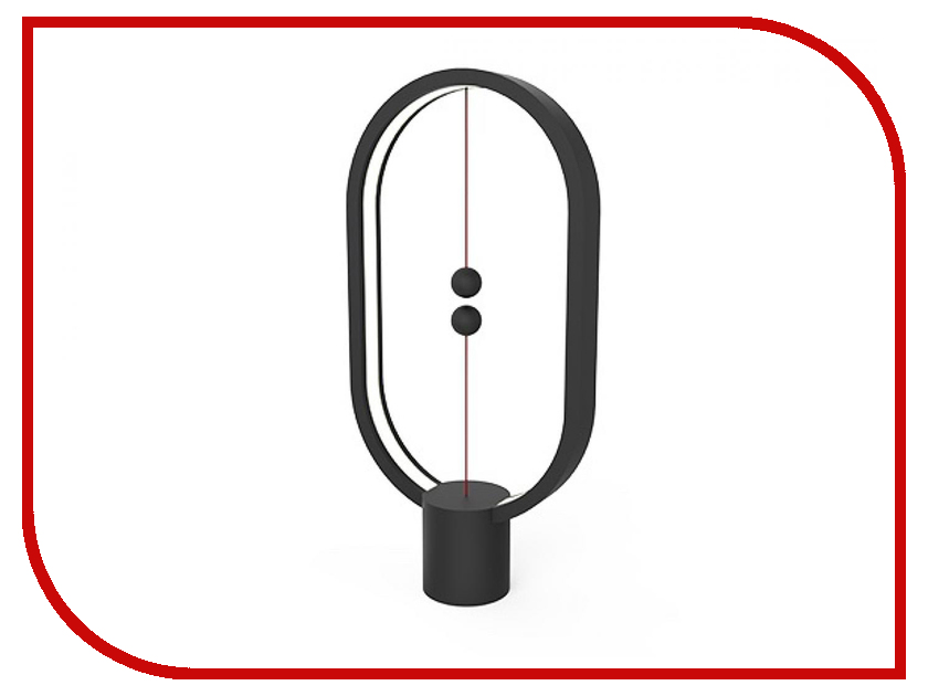 Настольная лампа Allocacoc Heng Balance Lamp Ellipse Dark Wood DH0037DW/HBLEUB скороварка seng heng 26cm 7l 304