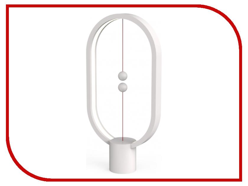 все цены на Настольная лампа Allocacoc Heng Balance Lamp Ellipse Plastic USB White DH0040WT/HBLEUB онлайн