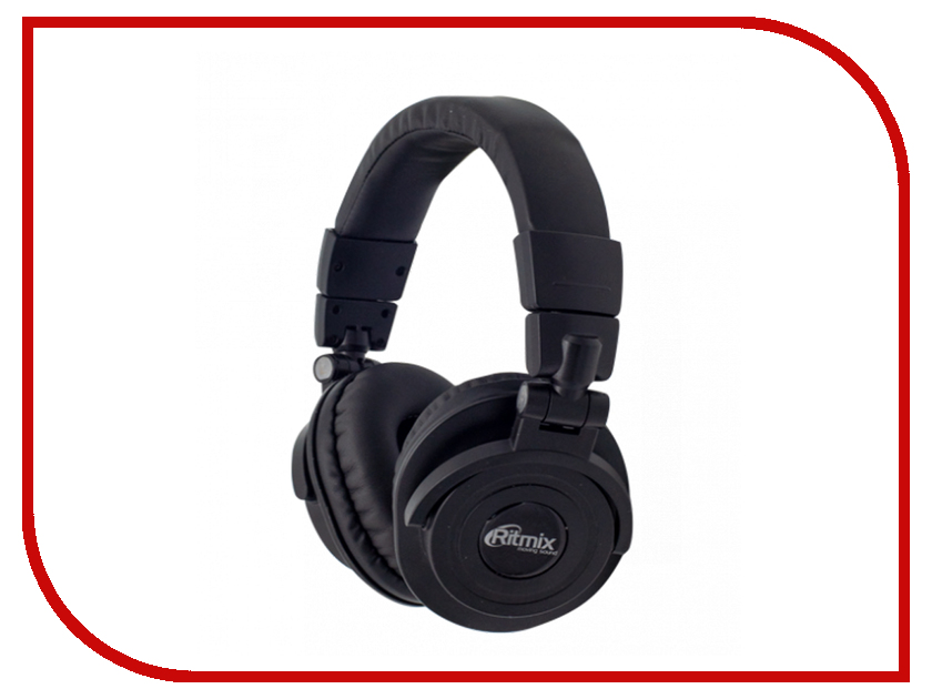 Ritmix RH-489BTH Black гарнитура ritmix rh 515m черный