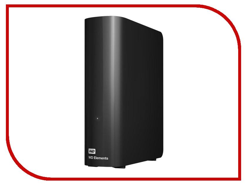 Жесткий диск Western Digital WD Elements Desktop 8 TB Black (WDBWLG0080HBK-EESN)
