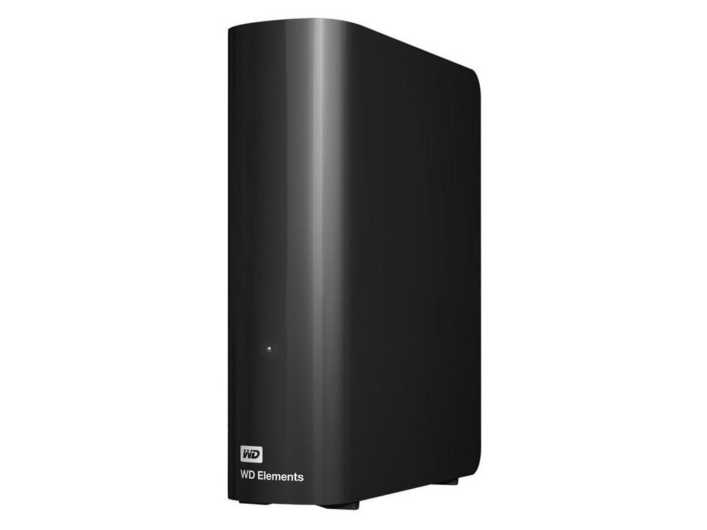 Жесткий диск Western Digital WD Elements Desktop 8 TB Black (WDBWLG0080HBK-EESN) жесткий диск 8tb western digital purple wd80puzx