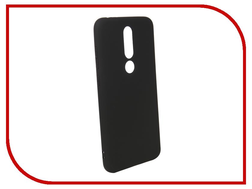 Аксессуар Чехол для Nokia 5.1 Plus Pero Black PRSTC-N51PB аксессуар чехол для nokia 7 plus pero soft touch black prstc n7pb