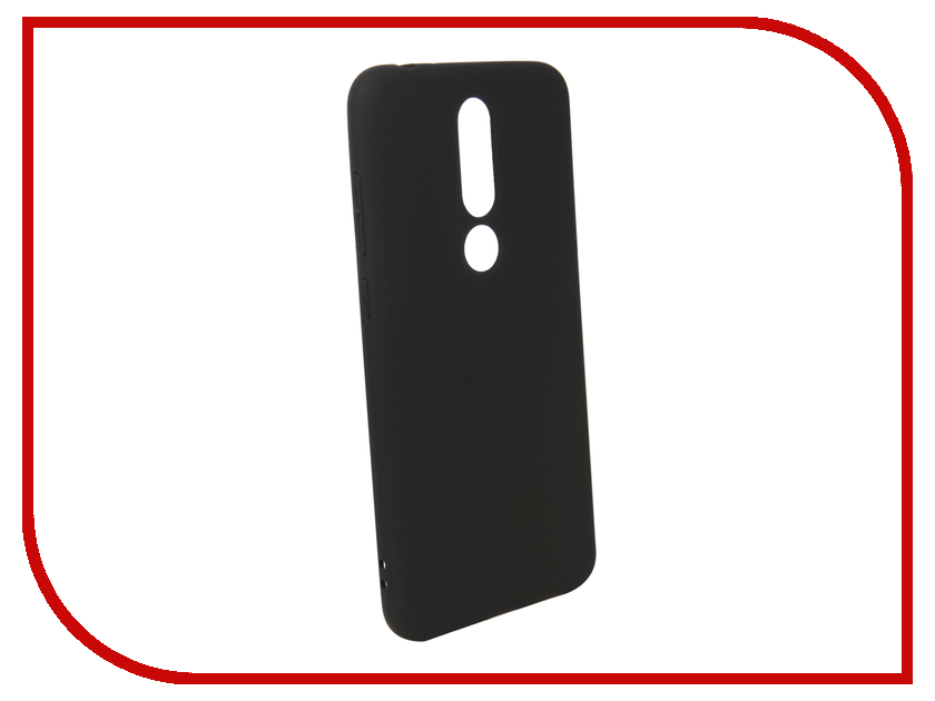 Аксессуар Чехол для Nokia 5.1 Plus Pero Black PRSTC-N51PB аксессуар чехол для nokia 5 1 pero black prstc n51b