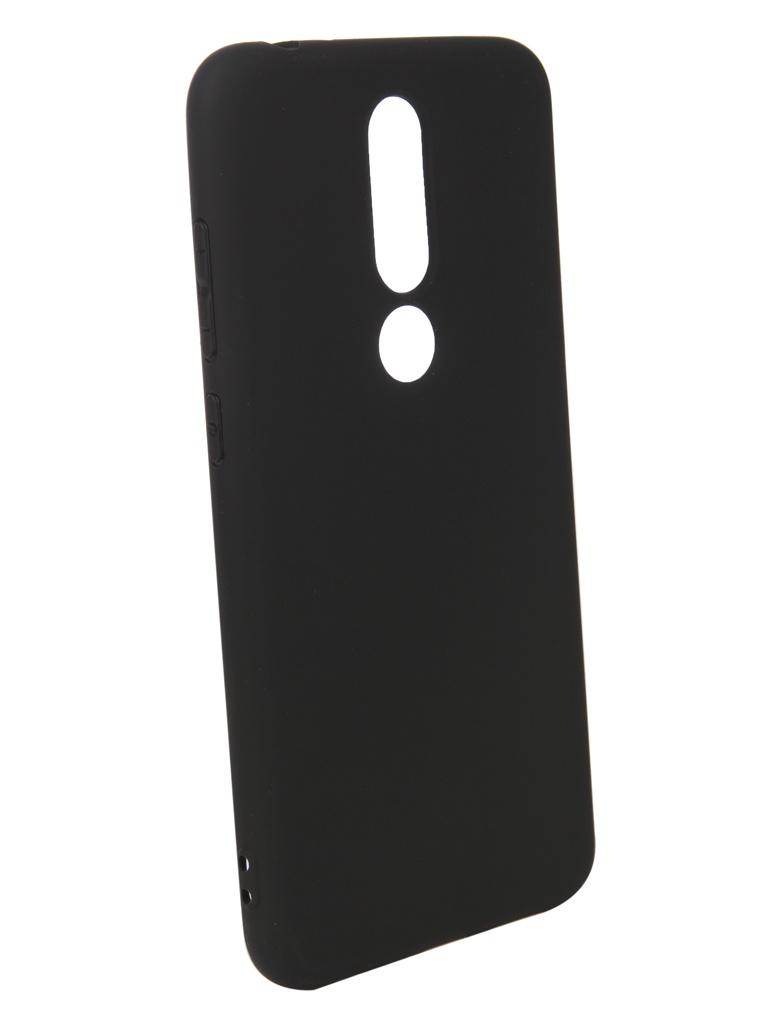 Аксессуар Чехол Pero для Nokia 5.1 Plus Black PRSTC-N51PB