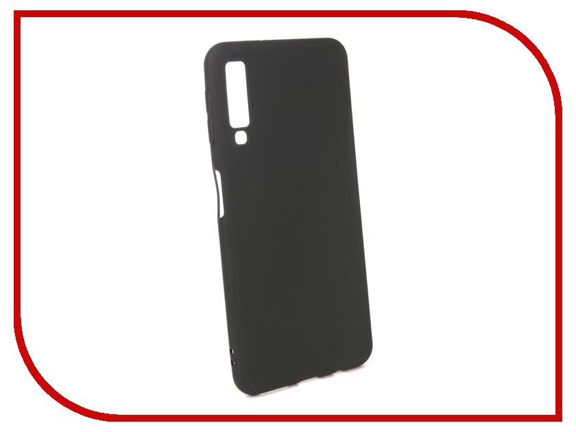 Аксессуар Чехол для Samsung Galaxy A7 2018 Pero Black PRSTC-A718B цена и фото