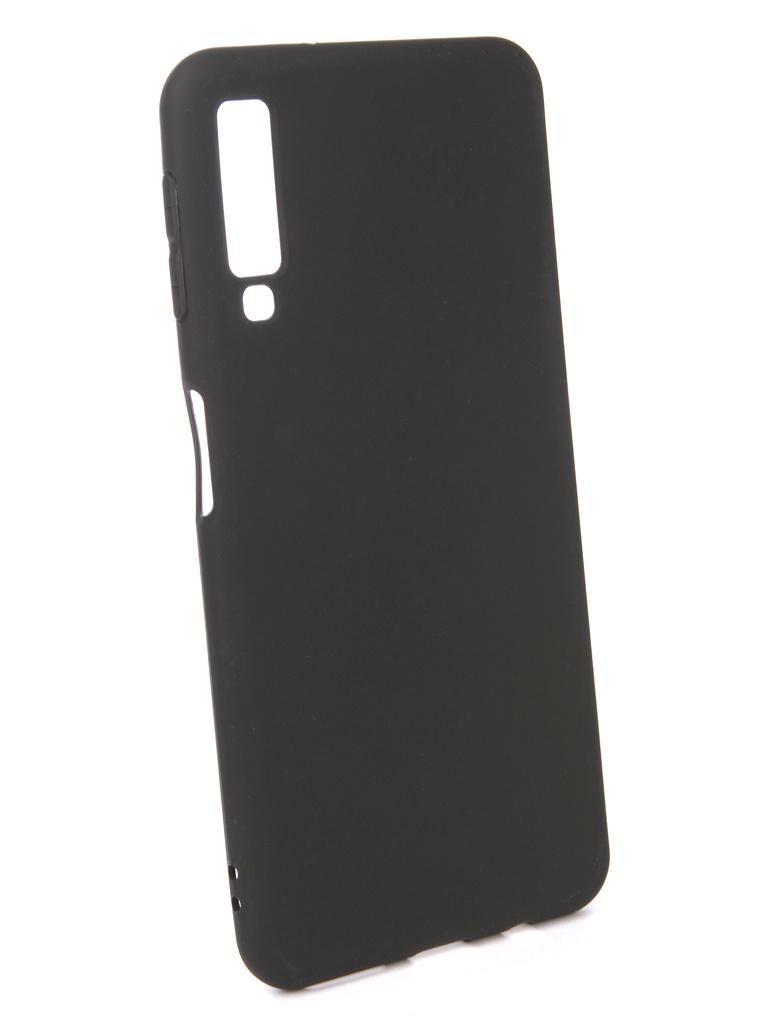 Аксессуар Чехол Pero для Samsung Galaxy A7 2018 Black PRSTC-A718B