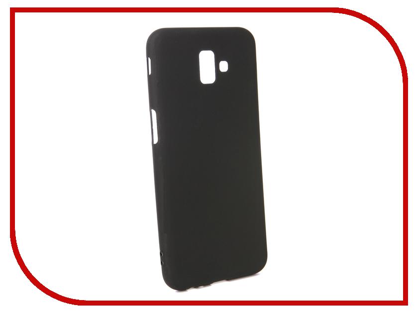 Аксессуар Чехол для Samsung Galaxy J6 Plus 2018 Pero Black PRSTC-J618PB аксессуар чехол для nokia 5 1 pero black prstc n51b