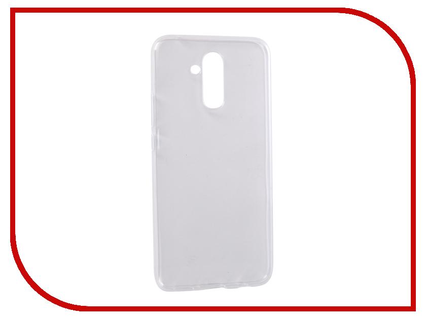 Аксессуар Чехол для Huawei Mate 20 Lite Pero Transparent PRSLC-HM20LTR аксессуар чехол для nokia 1 pero silicone transparent prslc n1tr