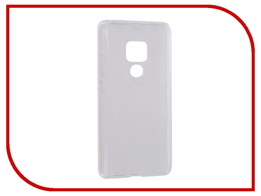 Аксессуар Чехол для Huawei Mate 20 Pero Transparent PRSLC-HM20TR аксессуар чехол для samsung galaxy j4 2018 pero silicone transparent prslc j418tr