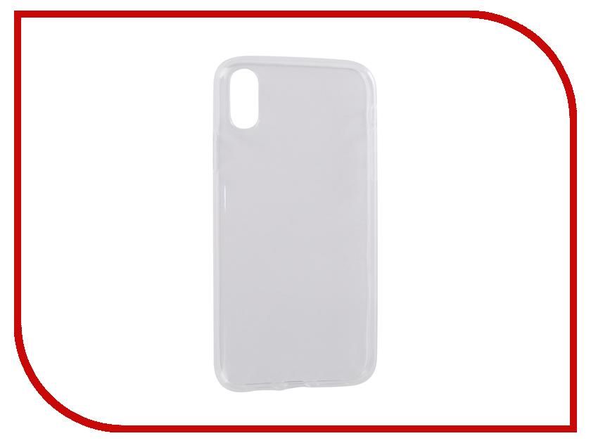 Аксессуар Чехол для APPLE iPhone XR Pero Transparent PRSLC-IXRTR аксессуар чехол для nokia 1 pero silicone transparent prslc n1tr
